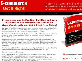Go to: E-commerce Get It Right!