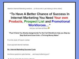 Go to: Internet Marketing Pack