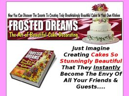 Go to: Frosted Dreams Cake Decorating