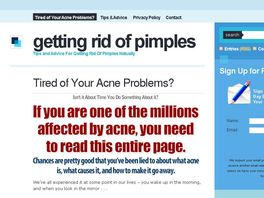 Go to: Understanding Acne: Getting Rid Of Pimples Naturally