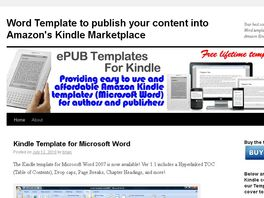 Go to: Kindle Template For Microsoft Word
