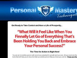 Go to: Personal Mastery Techniques