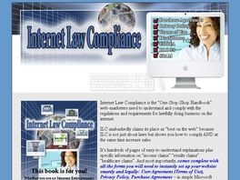 Go to: Internet Law Compliance An Internet Legal Guide