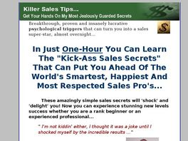 Go to: The Secret Weapon That Made Me Top Salesman - Revealed!