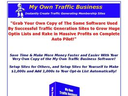 Go to: My Own Traffic Business - 50% Commission