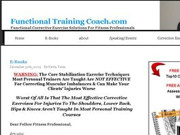 Go to: 75% Commission On Injury Solution Program For Fit Pros