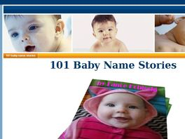 Go to: 101 Baby Name Stories