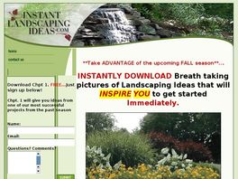 Go to: Get Landscaping Ideas & Plans