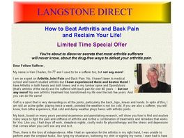 Go to: How To Beat Arthritis & Back Pain