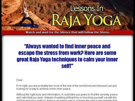 Go to: Lessons In Raja Yoga