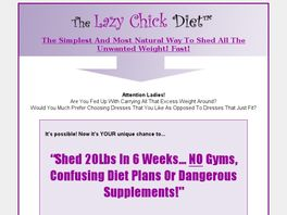 Go to: The Lazy Chick Diet*** - Finally Something That Works!