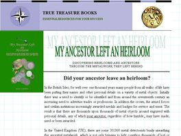 Go to: My Ancestor Left An Heirloom