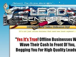 Go to: Lead Generation Pro - Affiliates Earn 50% Commissions!