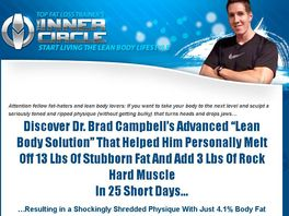 Go to: Topfatlosstrainer's Inner Circle: Lean Body Solution