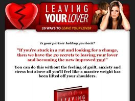 Go to: Leaving Your Lover.