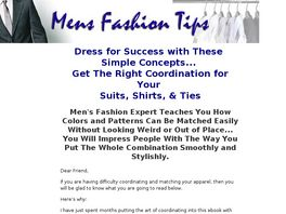 Go to: Mens Fashion Tips: Dress For Success.