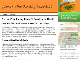 Go to: Gluten Free Family Favorites cookbook