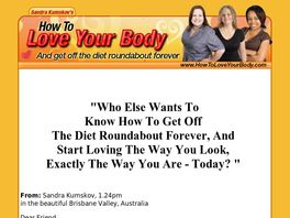 Go to: How To Love Your Body.