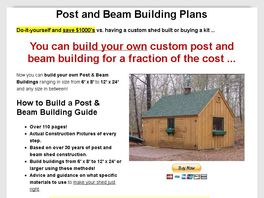 Go to: Post And Beam Building Plans & Guide