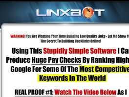 Go to: Linxbot - Find Unlimited High Pagerank Backlinks! Huge Epcs!