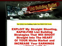 Go to: List Building Bullets - 70% Commission