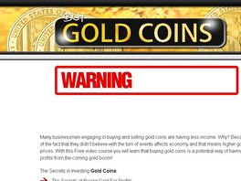 Go to: How To Make A Fortune Buying & Selling Gold Coins