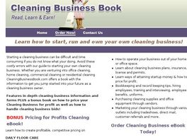 Go to: Start A Cleaning Business
