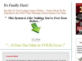 Go to: The Lottery Dominator