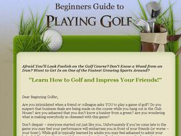 Go to: Beginners Guide To Playing Golf