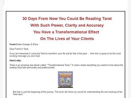 Go to: Transformational Tarot Ebook