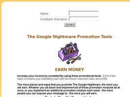 Go to: The Google Nightmare