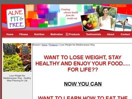 Go to: Lose Weight the Mediterranean Way...Healthy Meal Planning for Life