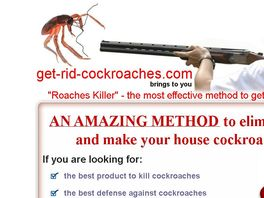 Go to: Cockroach Control Solutions