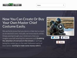 Go to: Master Chief Halo Costume: Do It Yourself Guide