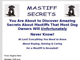 Go to: Guide To Keeping You Mastiff As Healthy And Happy As Possible.