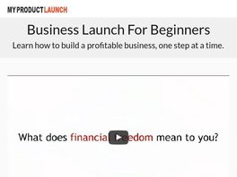 Go to: Business Launch For Beginners Online Course