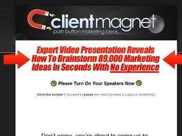 Go to: Client Magnet - 89,000 Small Business Marketing Ideas
