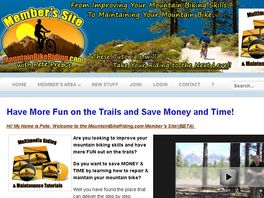 Go to: Mountain Bike Riding & Maintenance Tutorials