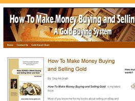 Go to: Make Money Buying And Selling Gold