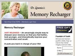 Go to: Improve Memory Today With The Memory Recharger