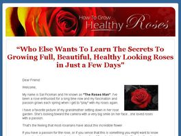 Go to: How To Grow Healthy Roses