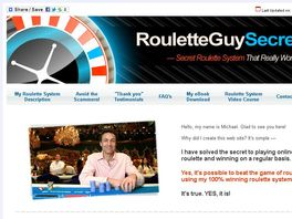 Go to: 100% Winning Roulette System By Roulette Guy Secret