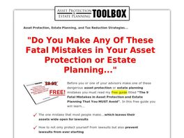 Go to: Asset Protection & Estate Planning Toolbox.