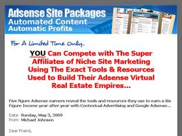 Go to: Adsense Resale Templates - 50% Commissions!!