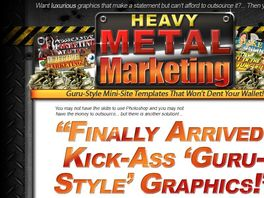 Go to: Heavy Metal Marketing - Affiliates Earn 75% Commissions