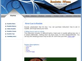 Go to: 13 Ways How To Win In Roulette.