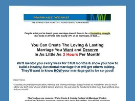 Go to: Marriage Works! Mentoring