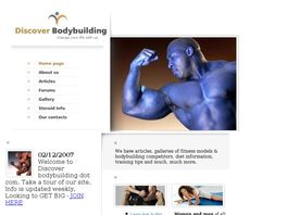 Go to: Bodybuilding & Fitness