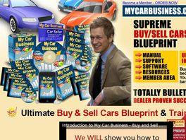 Go to: My Car Business - Supreme Buy & Sell Cars And Trucks Blueprint