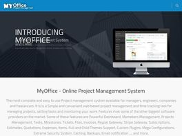 Go to: Myoffice - Online Project Management System